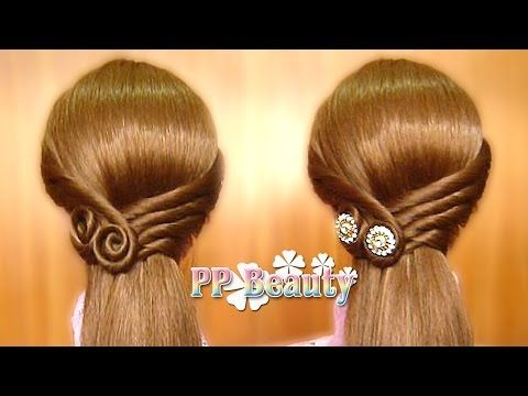 Amazing 25 Best Ideas About Easy Hairstyle Video On Pinterest Easy Bun Hairstyles For Men Maxibearus