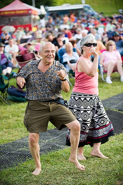 onceuponawildflower:    Pocono Blues Festival 2009 by festival_preview on Flickr.    i love seeing old people dance awkwardly in public. its so cute