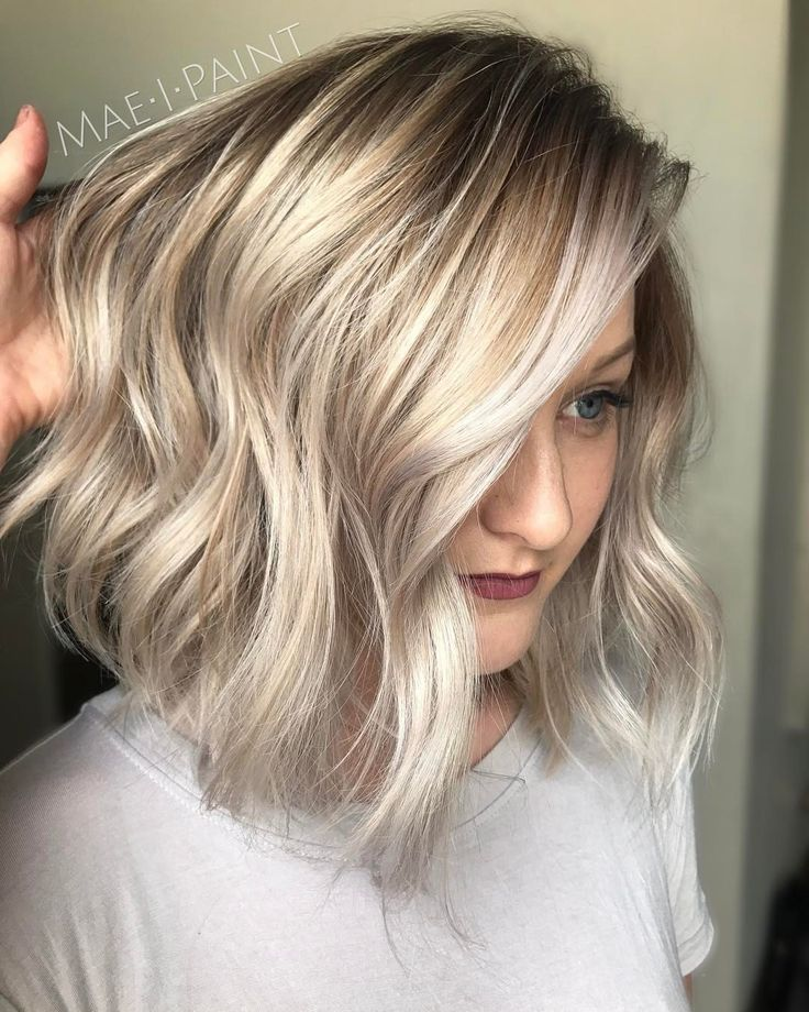 """2,295 Likes, 49 Comments - Marissa Mae Neel (@maeipaint) on Instagram: """"Aaaaand my blonde model from class yesterday  Face frame/crown highlight & color melt using…"""""""