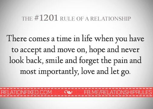 #1201 rule of relationship