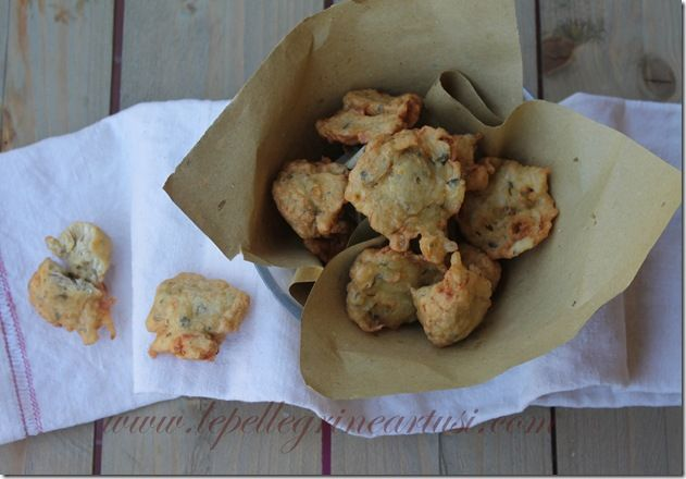 Le pellegrine Artusi: Frittelle di bianchetti