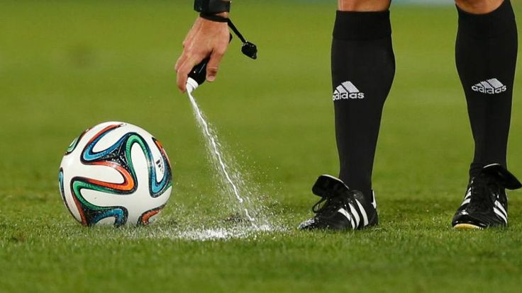 Goal-line technology, vanishing spray at free kicks: football gets makeover for 2014 World Cup