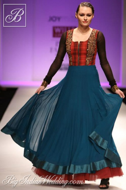 Joy Mitra ethnic wear collection  #WLIFW AW '13