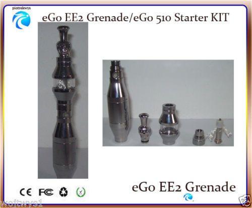 New eGo EE2 Metal Vaporizer pen Battery+Atomizer+ USB Charger 510 Series