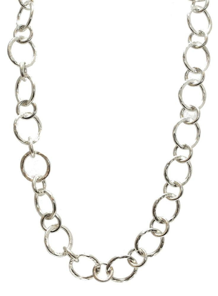 This sterling silver necklace is beautifully handmade in Nude Jewellery's workshop.  £595
