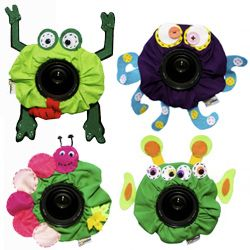Cute Shutter Buddies for your Camera! Shop great photography gifts and get limited time discount codes only at iHeartFaces.com #photography