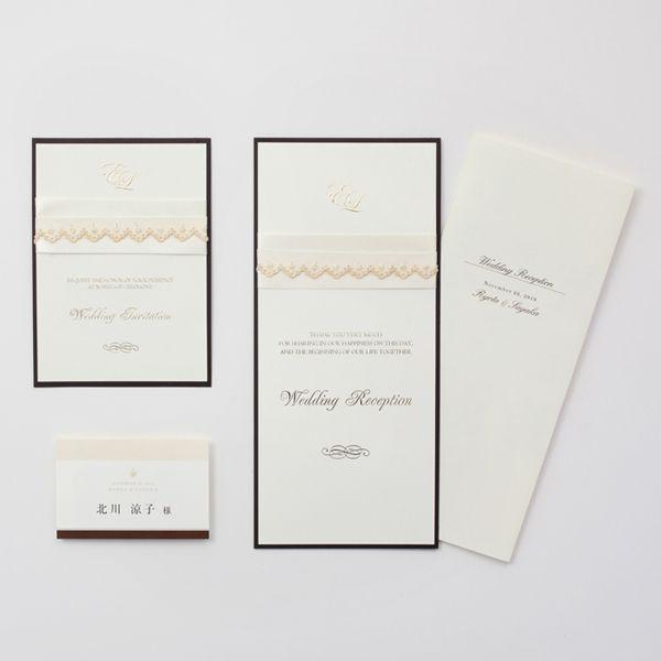 結婚式 招待状 Champagne|LOUNGE WEDDINGの結婚式 招待状