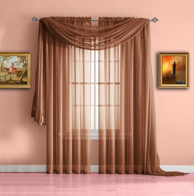 Warm Home Designs Rose Pink Window Scarves Sheer Light: Best 25+ Voile Curtains Ideas On Pinterest