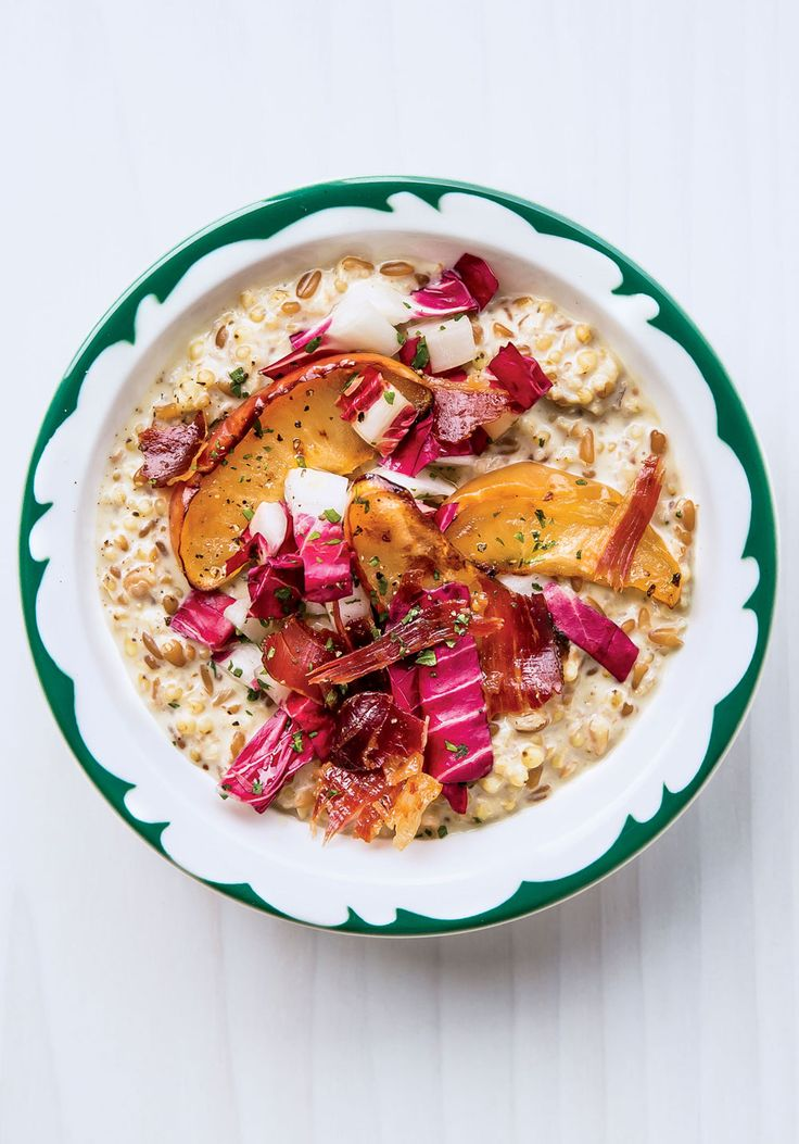 Yes, savory porridge is a thing. And if you bolster this creamy bowl of grains with lots of surprising toppings, it'll also be a thing you crave for any meal of the day.