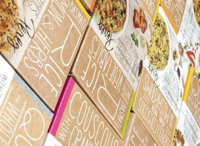 Couscous' carton is a natural | Package Design