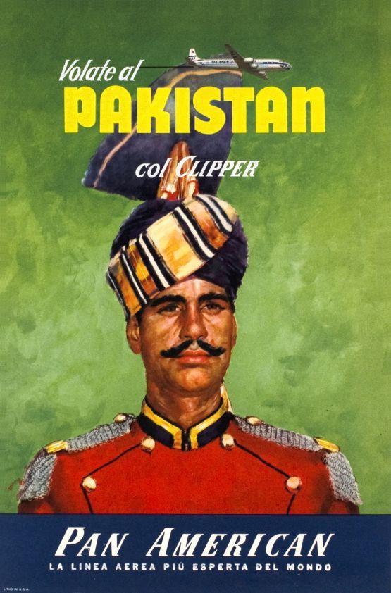 PAN AM, volate al Pakistan col Clipper
