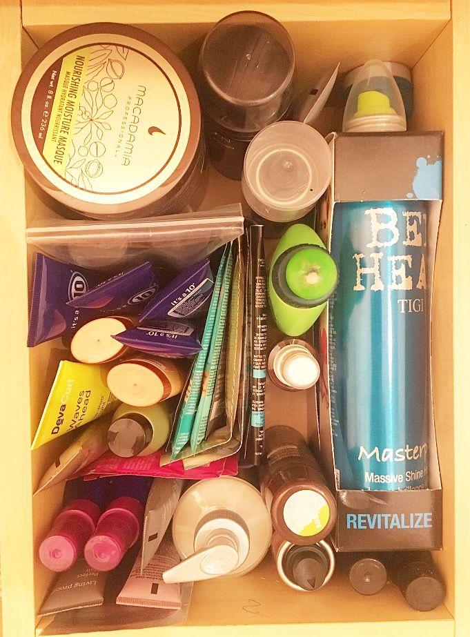 Best 25 Hair Product Organization Ideas On Pinterest