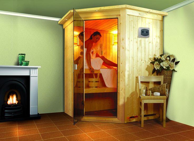 Sauna Traditionnel LARIN 68 mm avec Couronne + Poêle 8 kW Profitez de notre prix exceptionnel de 1299€ sur lekingstore.com Contactez nous au 01.43.75.15.90