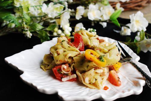 Insalata di Tortellini da Suzanne  - Tortellini Salad da Country Gal.
