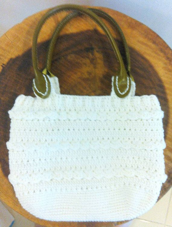 Custom crochet handbag crochet bag handmade by TheGreenHouse222