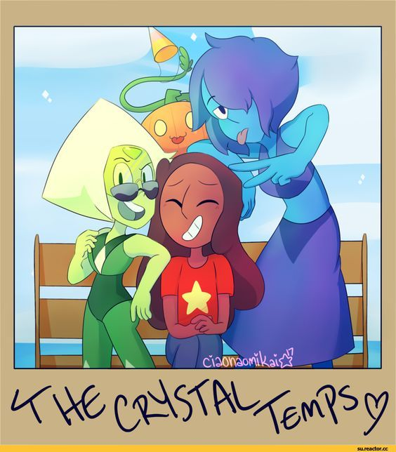 Steven universe the crystal temps