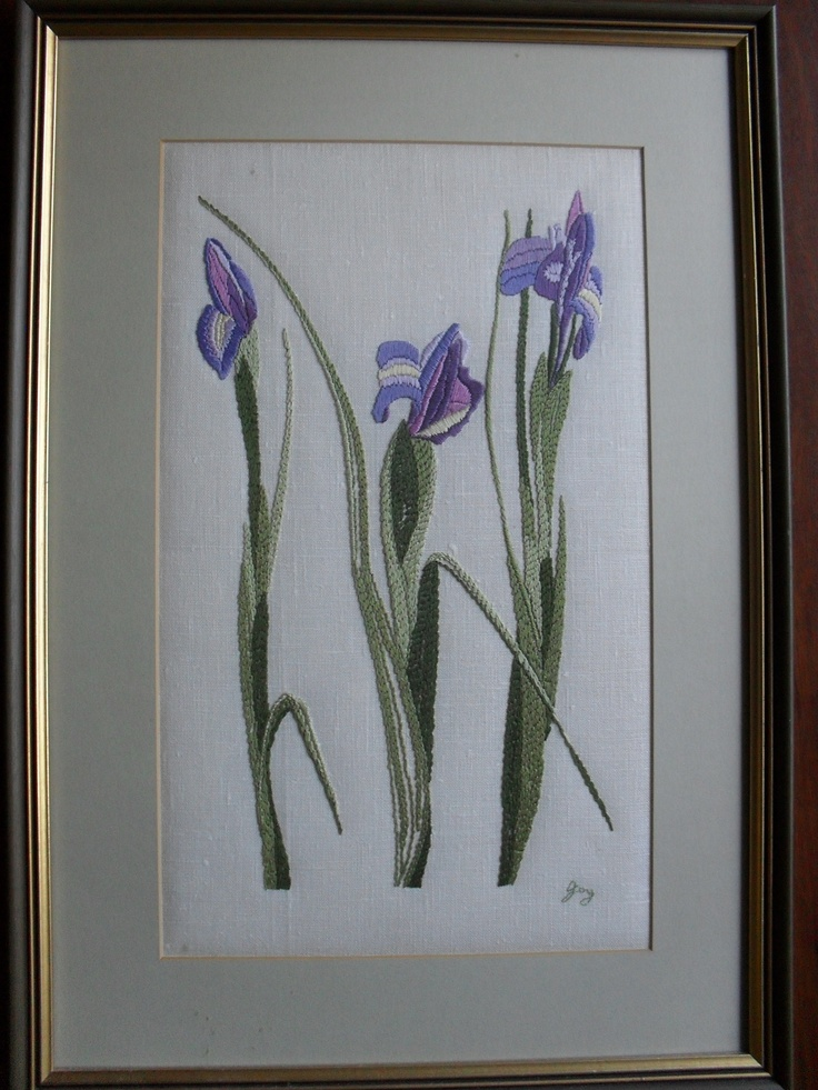 Surface Embroidery - 2nd Prize at Geelong Agric Show in 1990