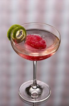 Make refreshing summer cocktails with wine and sorbet.