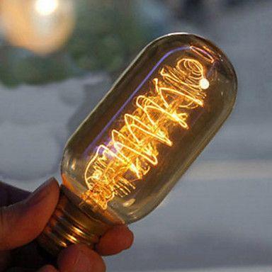 40W E27 Retro Industry Incandescent Bulb Edison Style - USD $ 6.79