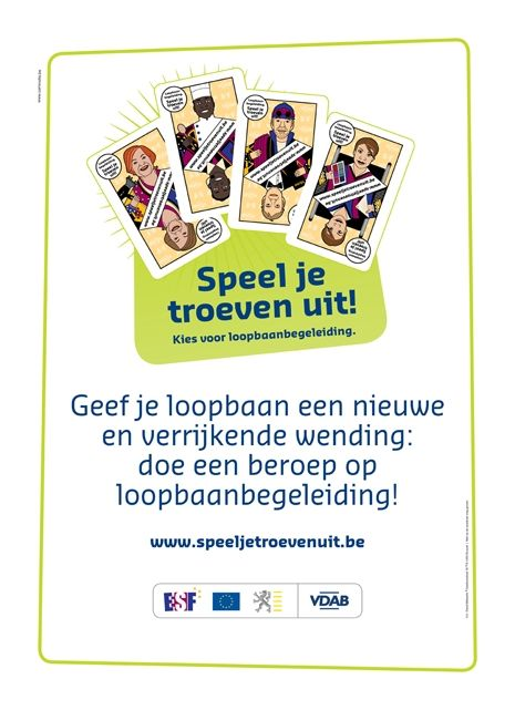 Campagne Loopbaanbegeleiding VDAB | Commotie