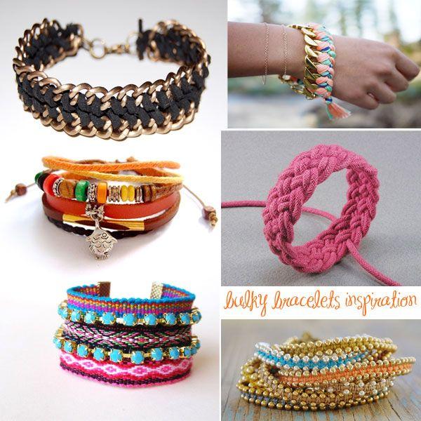 bulky bracelets diy