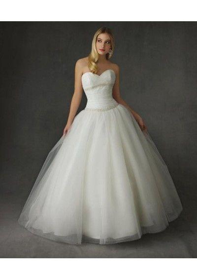 Vip Tulle Wedding Gown Sweetheart Strapless Neckline Ball Gown Skirt DD-01138