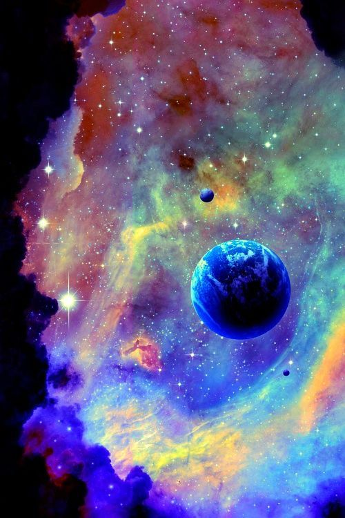 ⭐Astronomy, outer space, space, universe, stars, planets, nebulas⭐