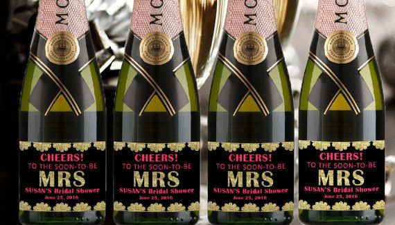 Check out this item in my Etsy shop https://www.etsy.com/listing/276359358/custom-mini-champagne-label-engages