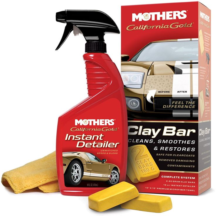 Mothers 07240 California Gold Clay Bar System         * You can find out more details at the link of the image. (This is an affiliate link and I receive a commission for the sales)