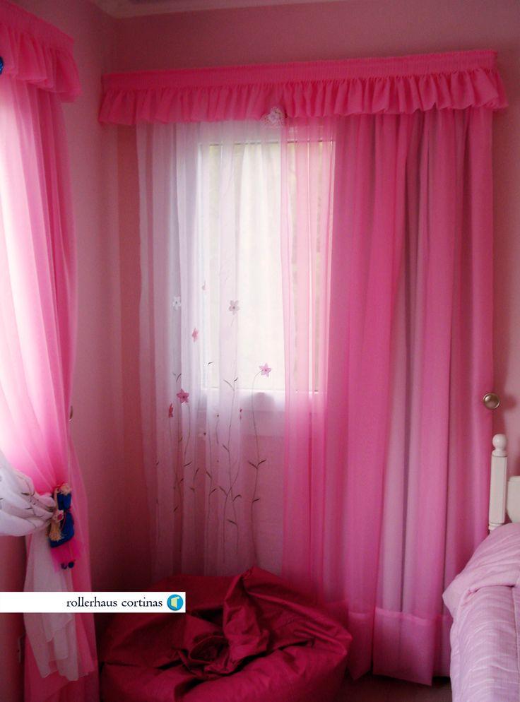 Cortinas de tela para alegrar tu habitación. https://www.facebook.com/rollerhauscortinas Asesoramiento y presupuestos en rollerhauscortinas@outlook.com