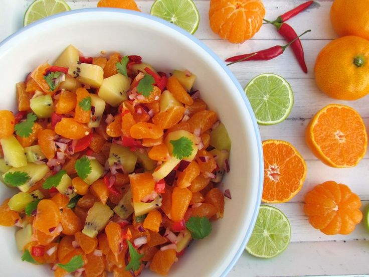 Mandarin and Kiwifruit Salsa
