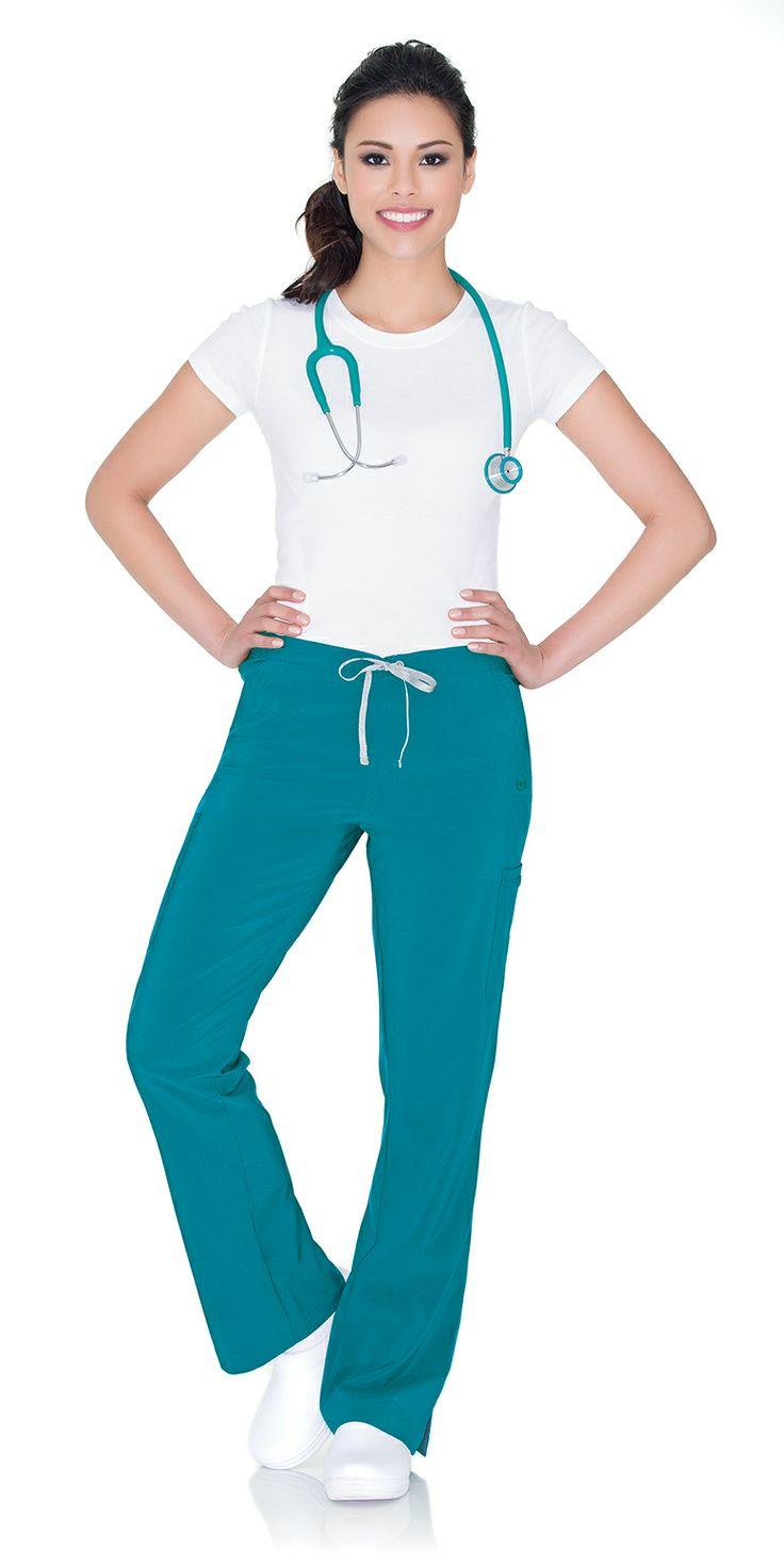 "Urbane Performance: ENDURANCE pant in ""Mediterranean"" #urbane #scrubs #medical #fashion #urniforms #hospital #nurse #nursing #rn #lpn #lvn #cna #dental #hygienist #vet #tech #spring #green #march #stretch"