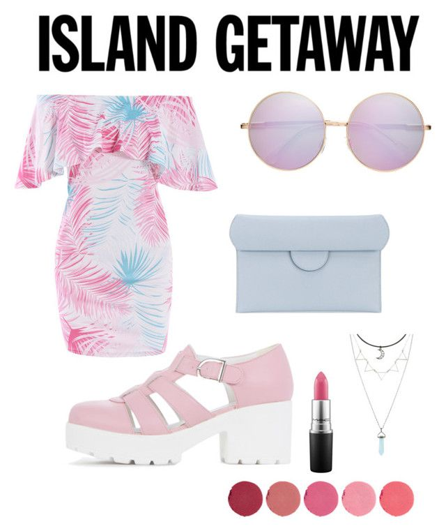 """island getaway"" by kleefashion on Polyvore featuring Roksanda, MAC Cosmetics and Kjaer Weis"