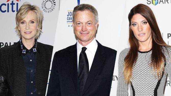 Jane Lynch Gary Sinise Jennifer Carpenter