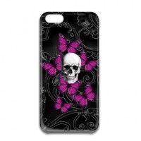 Purple Gothic Skulls by Oconnart
