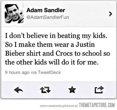 Parenting 101-Adam Sandler style: Adam Sandler, Parents Done Rights, Parents Tips, Parents 101, Good Parents, Parents Style, So Funny, Kid, Parents Win