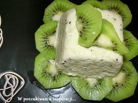 W poszukiwaniu inspiracji: Lody o smaku kiwi (bez maszyny)