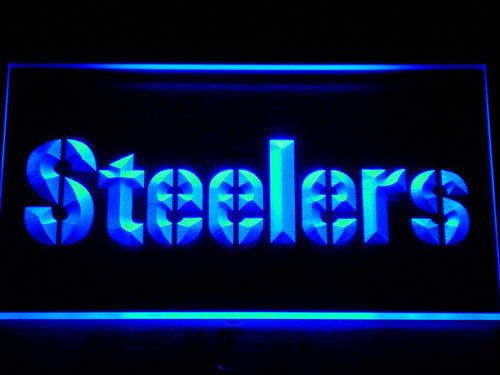Pittsburgh Steelers NFL LED Neon Sign Light  #Unbranded #PittsburghSteelers