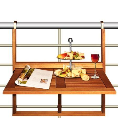 1000 images about balcony on pinterest tiny balcony - Table suspendue balcon ...