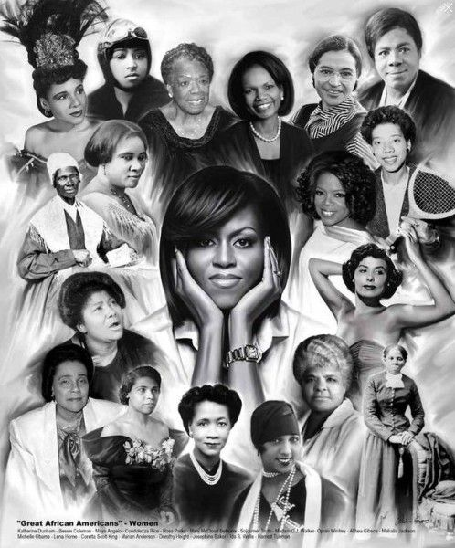 African+American+Women+Art | Our Bestselling African-American Artwork for Women's History Month ...