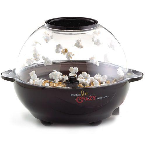 Stir Crazy popcorn popper! Best thing to make popcorn. By far..
