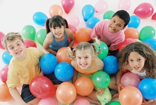 "fun kids indoor party games for birthdays: Try Freeze Dance to ""How Bad Can I Be"" song, Use cotton balls for Marshmallow games to minimize sugar consumption."