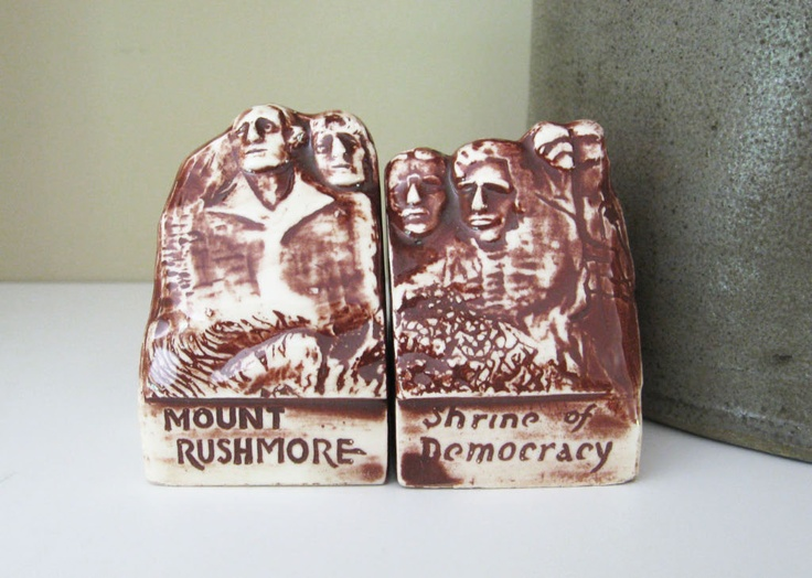 Salt and Pepper Shakers Mount Rushmore National Park via Etsy.