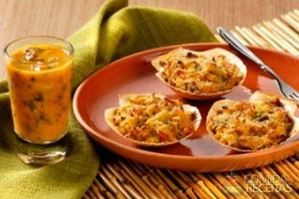 Receita de Casquinha de caranguejo em receitas de crustaceos, veja essa e outras receitas aqui!