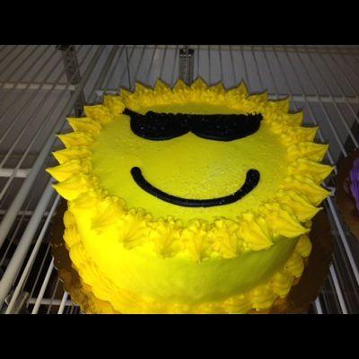 summer cake | sheet cake summer themed full sheet cake 2 summer themed gift cake ...