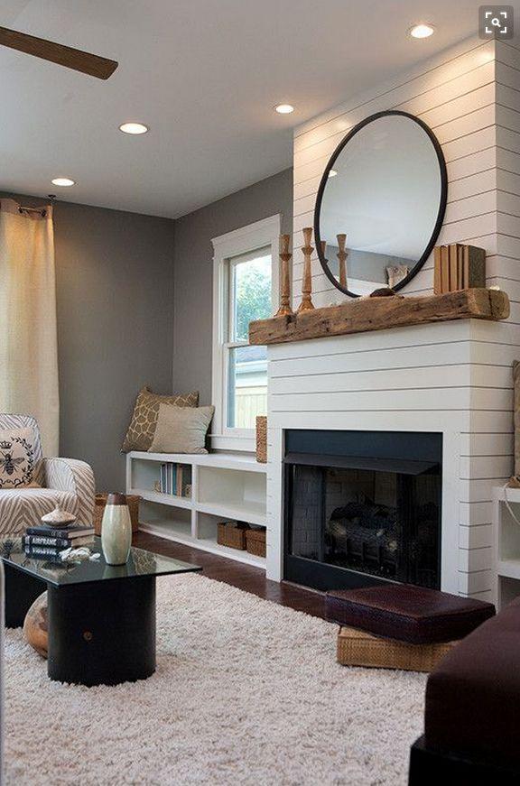 Best 25 Fake Fireplace Ideas On Pinterest