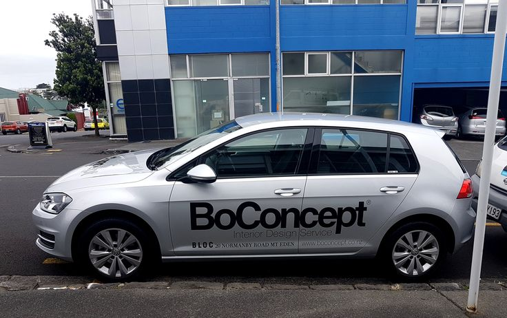 Vehicle graphics for BoConcept by Speedy Signs Newton