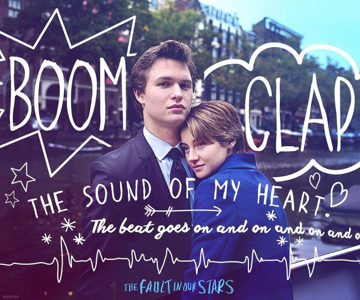"Augutus acts an important role in Hazel's life. The lyrics from ""Boom clap"" has shown their love, their beautiful relationship from a friend to a couple"