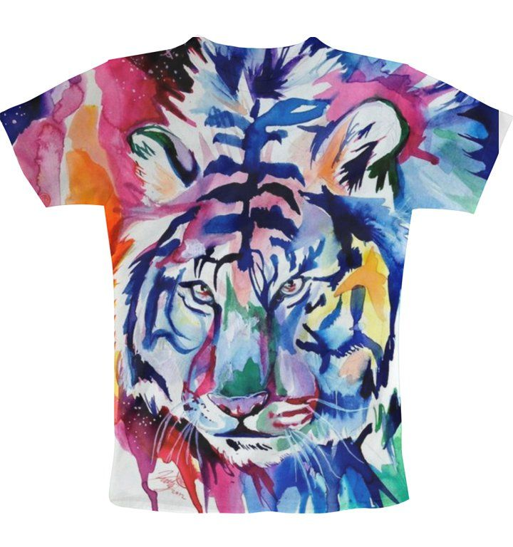 bleeding tiger T-Shirt