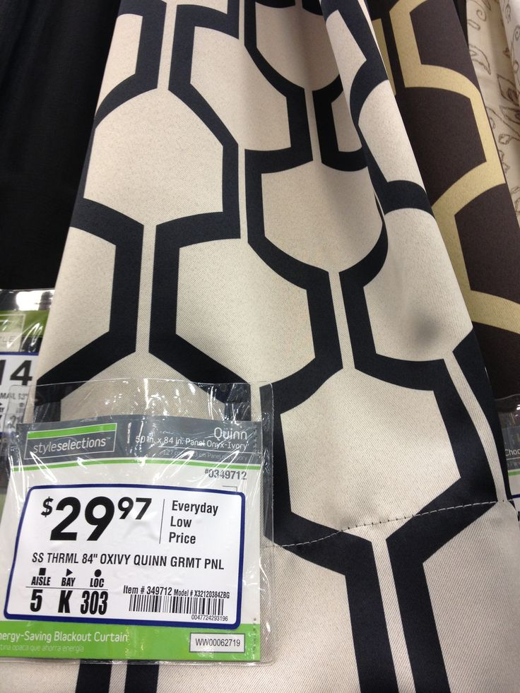 I just got these from lowes , and they are awesome , very good fabric , , one of the best places to buy curtains for sure !!))